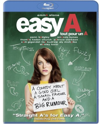 Easy A [Blu-ray] (Bilingual) Emma Stone Will Gluck