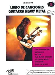 Método de Guitarra Heavy Metal : Libro de Canciones 2: Amazon.es ...