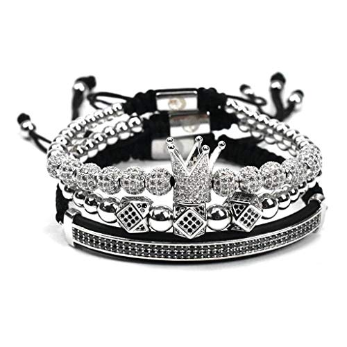 - Vice Entertainment Royal Crown Jewels 3PCS Set, Gold/Silver/Rose Gold (Silver)