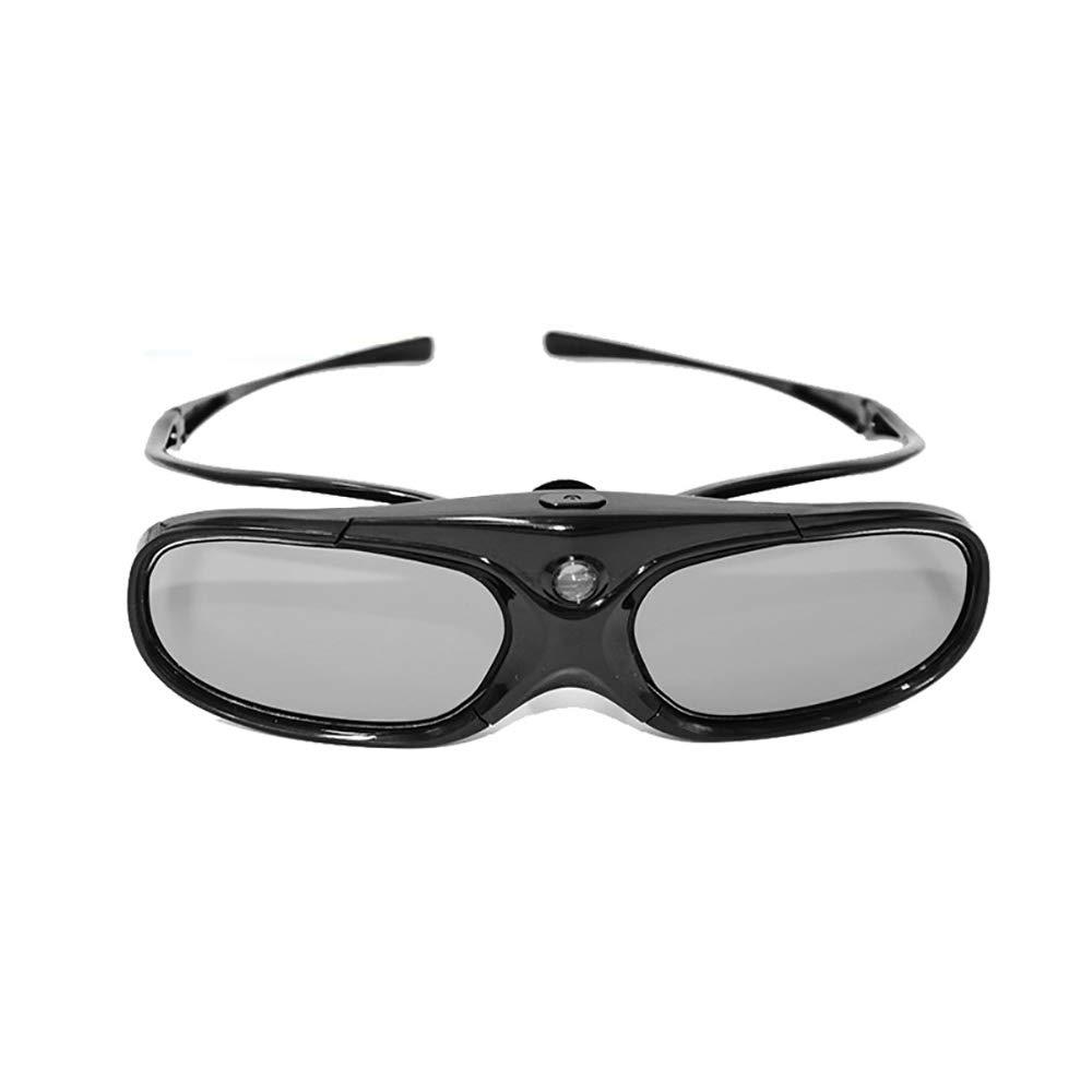 ZHL Gafas 3D, Gafas Recargables con Obturador Activo 3D para ...