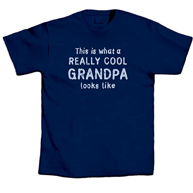 fce938b1 LA Imprints T-Shirts Tee This is What Really Cool Grandpa Look Like – Navy
