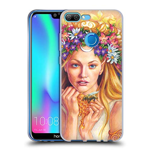 Official Jane Starr Weils Wild Honey Goddess 1 Soft Gel Case for Huawei Honor 9N (9i)