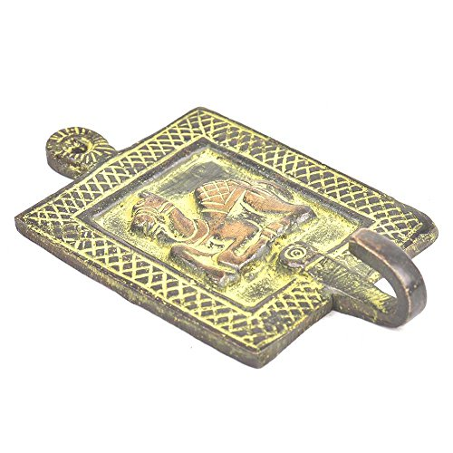 1 Piece Tribal Camel Some Green Patina Brass Wall Hooks Cloth Coats Hangers Key Accessories Holders Online BTH-164 ()