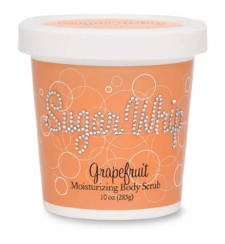 efruit Sugar Whip Moisturizing Body Scrub, 10-Ounce Package (Moisturizing Sugar Scrub)