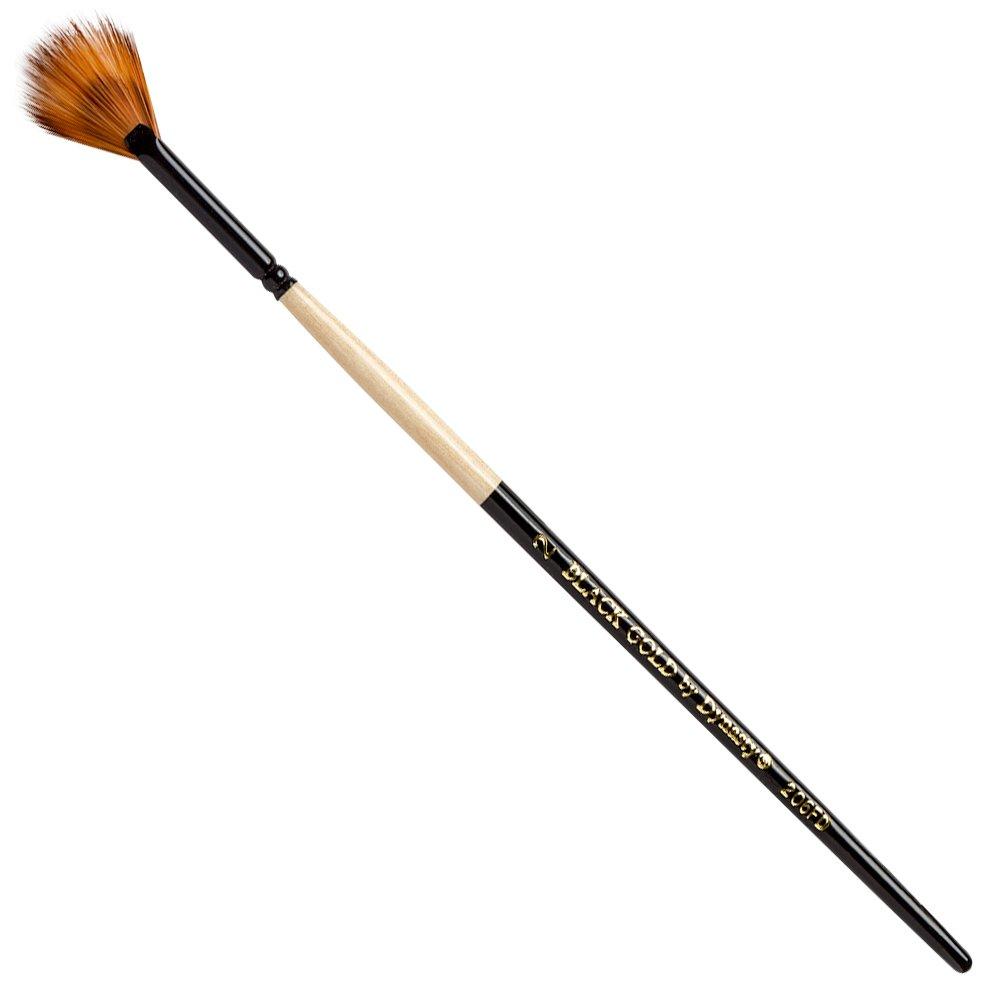 Black Gold Fandango by Dynasty - Size 2 (one brush) 12119