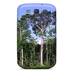 Tpu Case For Galaxy S3 With Suriname Tropical Jungle Forest
