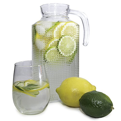 ball glass pitcher - 1