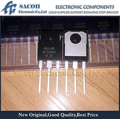 Generic 5Pcs SCT2080KEC SCT2080KE SCH2080KEC SCH2080KE TO-247 40A 1200V N-Channel SiC Power MOSFET
