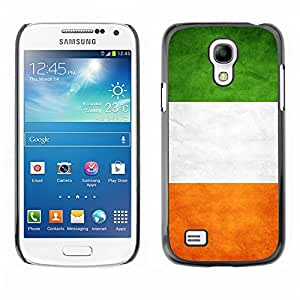 Flag Case Premium Cover - Samsung Galaxy S4 MINI / Irelan Grunge Flag /