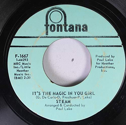 (Steam 45 RPM It's The Magic In You Girl / Na Na Hey Hey Kiss Him Goodbye)