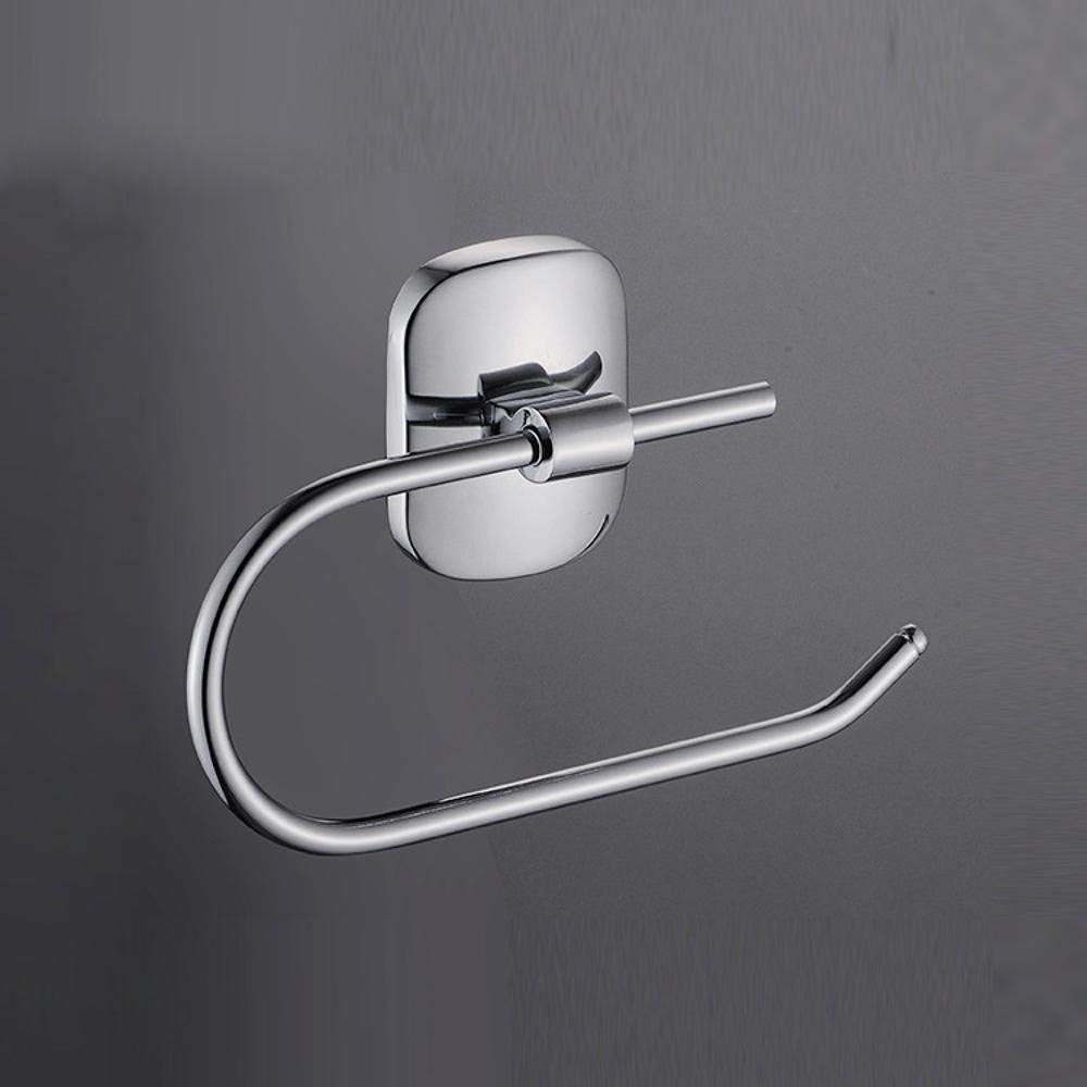 Roll Paper Zinc Alloy Paper Towel Rack Perforated Installation Toilet Paper Holder Paper Holder