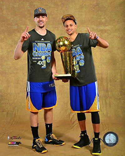 4ce1de496cdc1 Amazon.com: Klay Thompson & Stephen Curry Golden State Warriors 2015 ...
