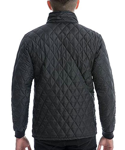 Black Men's UK Down Jacket Puffer Jacket Coat Packable Lightweight today zOqpxwCC
