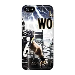 Iphone 5/5s Vjw17253EnfC Allow Personal Design HD Pittsburgh Steelers Skin Bumper Phone Cases -AlissaDubois