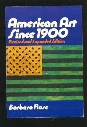 American Art Since 1900 (Praeger World of Art Series)