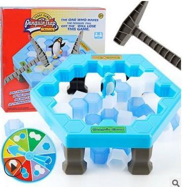 Juego de mesa de pingüino para niños, juguete educativo interactivo para padres e hijos, apto para niños mayores de 3 años (25,5 x 25,5 x 6 cm): Amazon.es: Informática