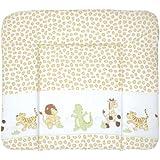 roba Wickelauflage 'Safari', 85 x 75 cm, weiche Wickelunterlage, Baby Wickeltischauflage PU beschichtet
