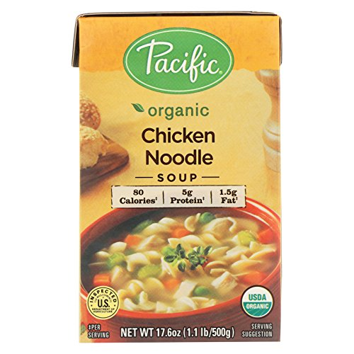 Pacific Natural Foods Noodle Soup - Chicken - Case of 12 - 17.6 oz. by Pacific Natural Foods