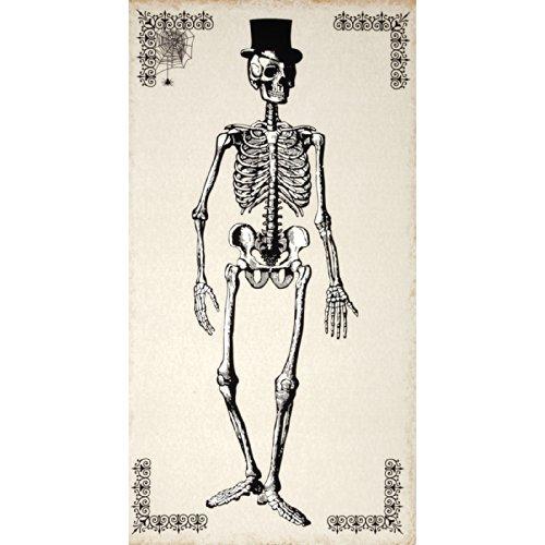 Andover Chillingsworth Skeleton Panel Cream Fabric,]()