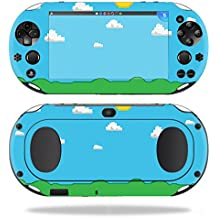 MightySkins Skin For Sony PS Vita (Wi-Fi 2nd Gen) – Gamer Landscape | Protective, Durable, and Unique Vinyl Decal wrap cover | Easy To Apply, Remove, and Change Styles | Made in the USA