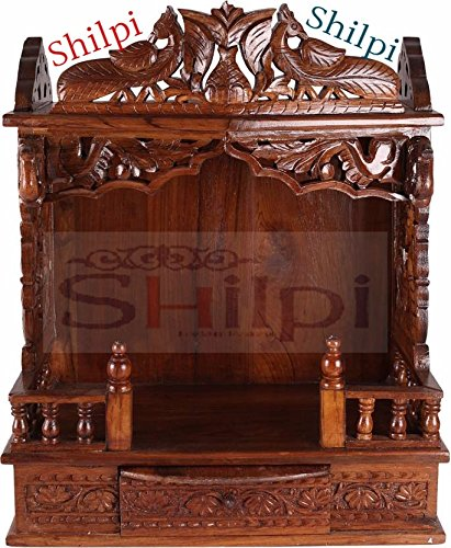 Buy Shilpi Sheesham Wood Peacock Decor Mandir Wooden Temple Wooden Mandir  Puja Pooja Wooden Designer Home Temple Online at Low Prices in India -  Amazon.in dce066685