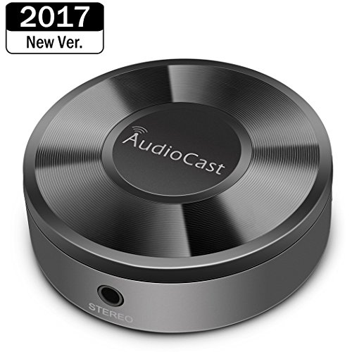 Audiocast M5 Airplay adapter Airplay receiver Wireless Music Streamer WIFI Muisc receiver Streams Wireless Audio & Music to Speaker System through Wi-Fi Network From Mobile Device
