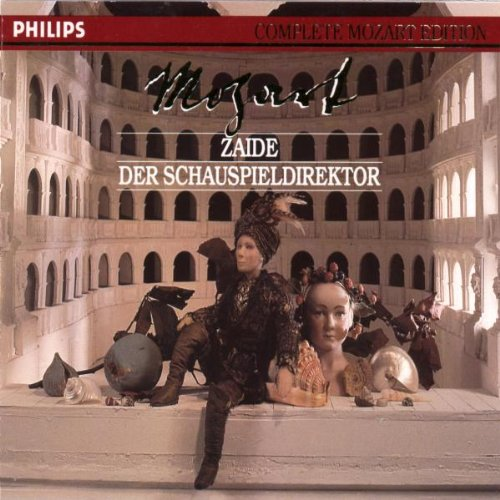 Mozart: Zaide Japan El Paso Mall Maker New Der Schauspieldirektor Vol. 36 Edition Mozart