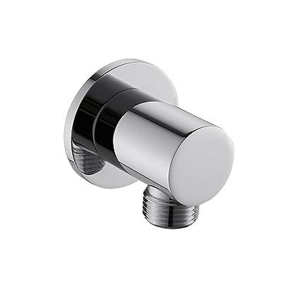 Weirun Bathroom Round Shower Hose Connector 1/2\