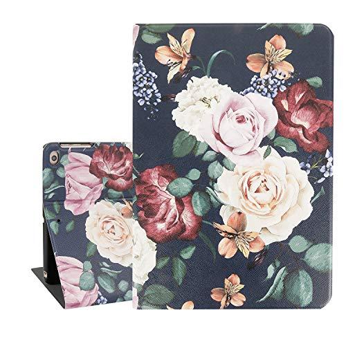Flower Vintage Floral Protective Tablet