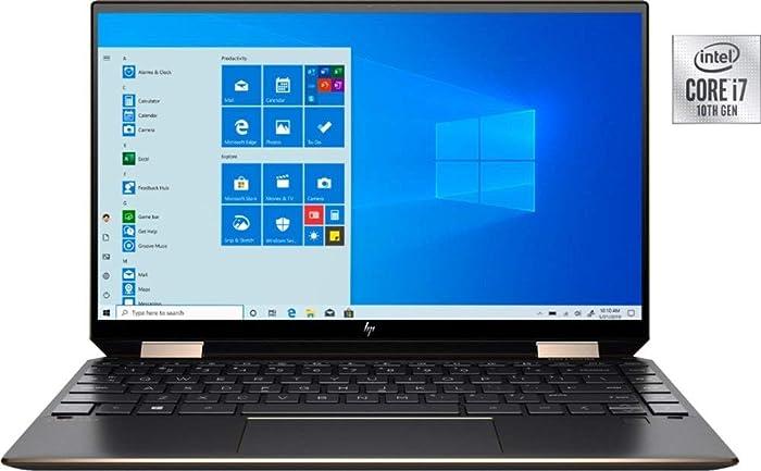 """New Spectre x360 2-in-1 13.3"""" 4K OLED Ultra HD Touch-Screen Laptop 13-AW0023DX 10th Gen Intel Core i7-1065G7 Active Pen Plus Best Notebook Stylus Pen Light (2TB SSD 16GB RAM 4K OLED) Win 10"""