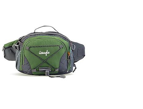 Outdoor Peak - Riñonera negro Armee grün: Amazon.es: Equipaje