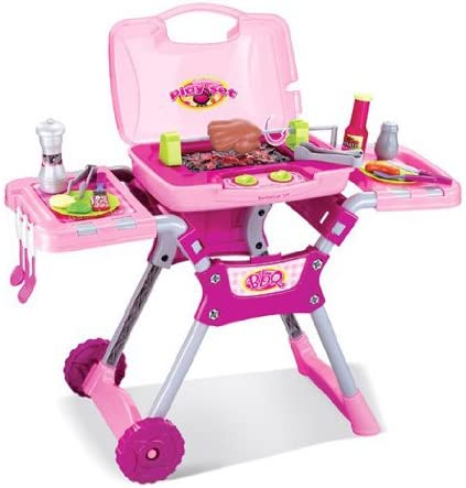 Inside Out Toys Set de Barbacoa de Juguete para niños - con ...