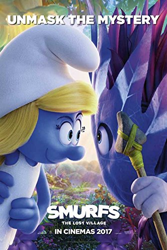 Smurfs: The Lost Village Movie Poster, Demi Lovato, Rainn Wilson, A, Made In The