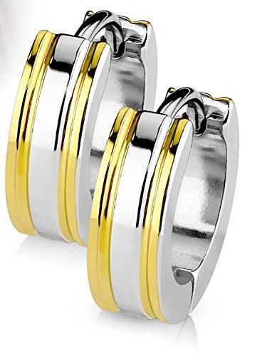 Yellow Mens Earring - 8