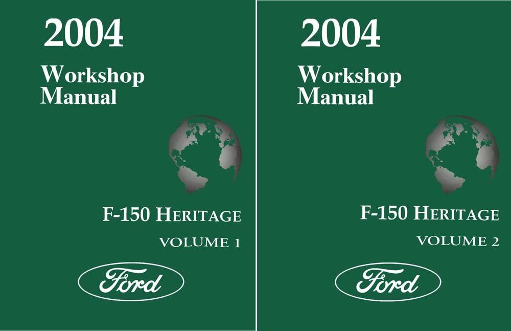 bishko automotive literature 2004 Ford F-150 Heritage Shop Service Repair Manual