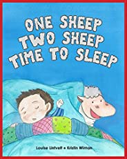 Kids Book: One Sheep, Two Sheep...Time to Sleep (Children's Books for Bedt