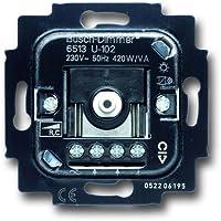 Busch-Jaeger 1307690 dimmer draaien/druk knop 40-420W