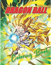 DRAGON BALL COLORING BOOK: This book contains 239 different Daragon Ball coloring pictures.