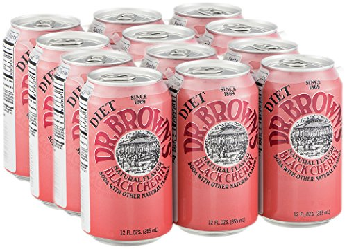 diet black cherry soda - 3