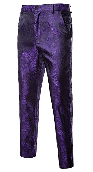 EKU FASHION - Traje - para Hombre Morado Morado (S: Amazon ...