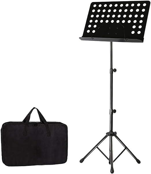 GDGQJRM Soporte de Teclado Soporte de Partitura Portátil Soporte de Guitarra Guitarra Guzheng Violín Partitura Musical Piano de Mesa Plegable Levante Marco de Partitura para Piano: Amazon.es: Hogar