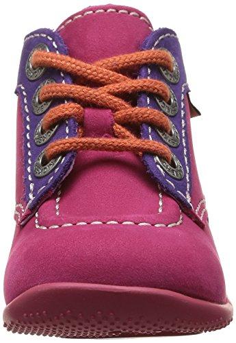 Rose Chaussures Orange pas fille Fuchsia bébé Violet premiers Bonbon Kickers YqzZ5fx