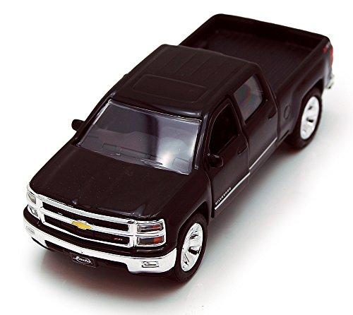 Jada Toys 2014 Chevy Silverado Pickup Truck Collectible Diecast Model Car Black