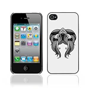 Designer Depo Hard Protection Case for Apple iPhone 4 4S / Abstract Tattoo Art