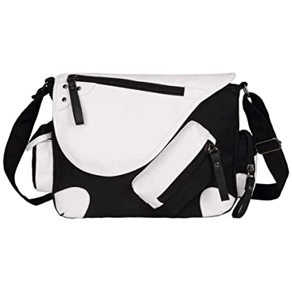 LAIDAYE Mens Shoulder Messenger Bag Business Leisure Multi-purpose Travel Backpack