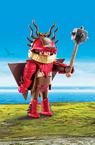 PLAYMOBIL : Dragons Snotlout with Flight Suit