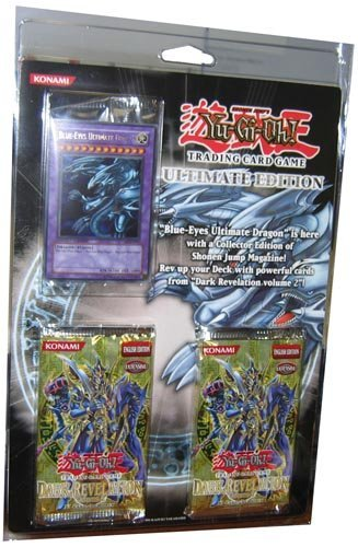 (YuGiOh Card Game Ultimate Edition Blister Pack Set With Blue Eyes Ultimate Dragon Promo!)