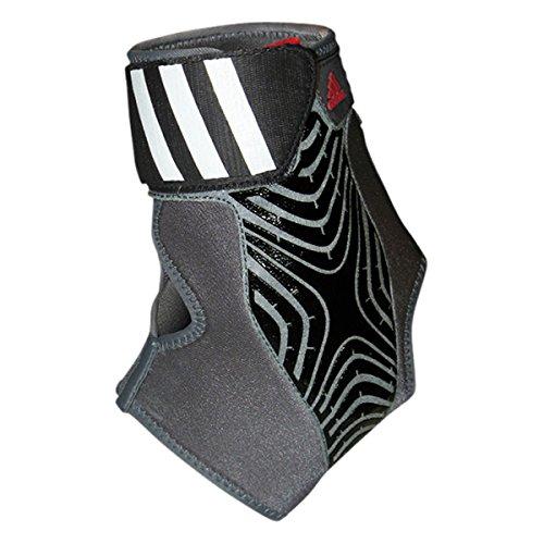 adidas Performance adizero Speedwrap Right Ankle Brace, Medium Lead/Black, Small