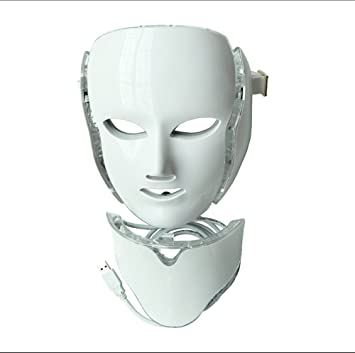 ZY Siete Colores Máscara De Belleza De Luz De Color LED Máscara De Belleza Profesional Tratamiento
