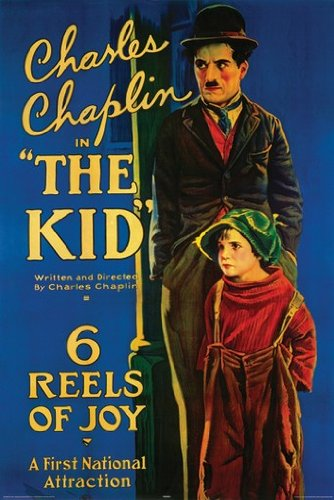 THE KID POSTER Vintage Charlie Chaplin RARE HOT NEW 24x36